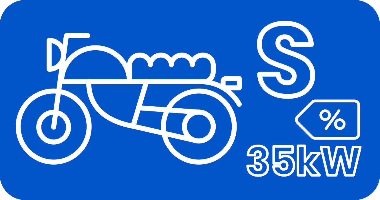 Pack MOTO S 35kw